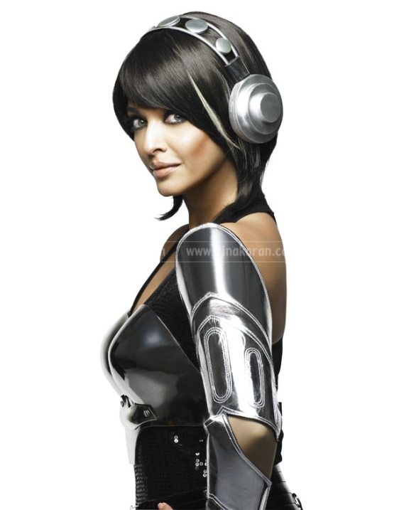 Aishwarya Rai in in the film Enthiran / Robot (2010)