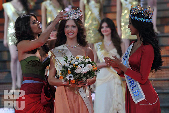 Elizaveta Golovanova, Miss Russia World 2012. gallery photos