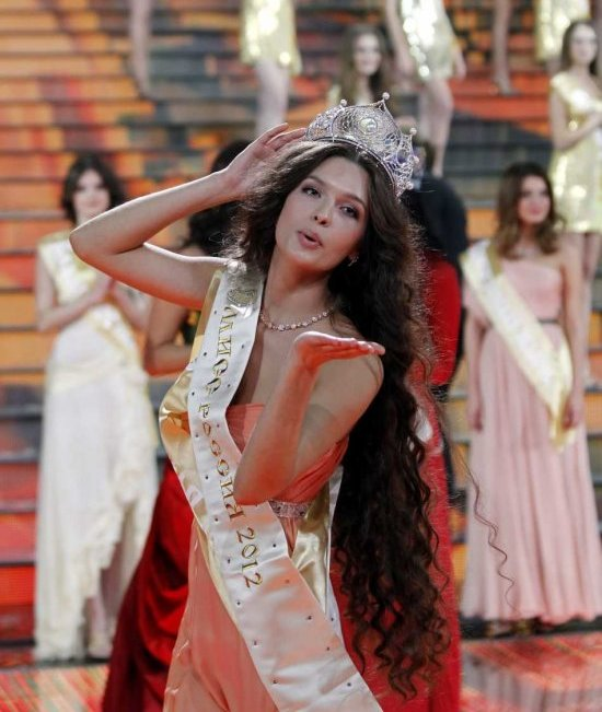 Elizaveta Golovanova, Miss Russia Universe 2012. photo gallery