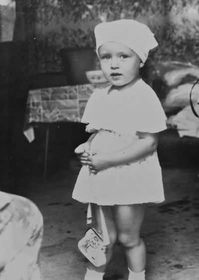 Ksenia Sukhinova in Childhood