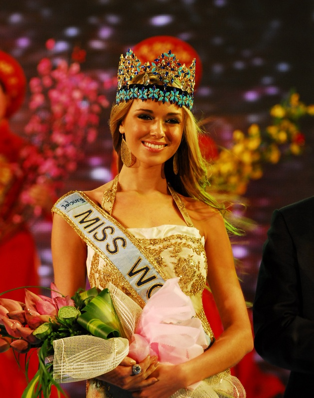 Ksenia Sukhinova (Russia), Miss World 2008. Photo