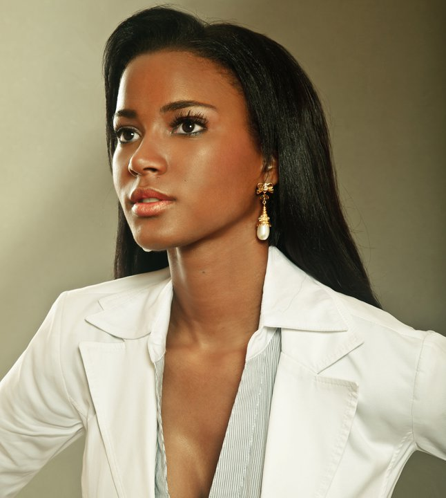 Leila Lopes Miss Universe Miss Angola 2011. Photo