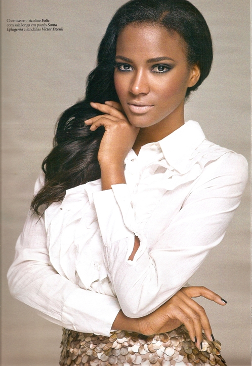 Leila Lopes ms Angola ms Universe 2011. photo