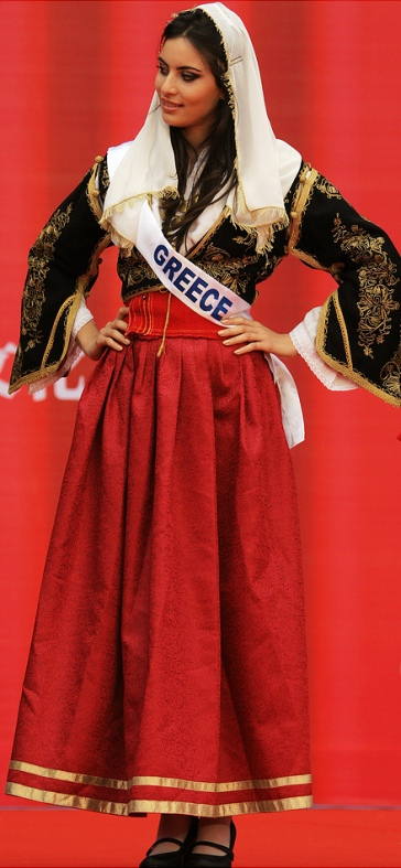 Maria Tsagkaraki - Miss Greece International 2010, Miss Greece World 2012. Photo