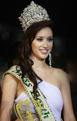 Jessica Trisko (Canada) - Miss Earth 2007. photo