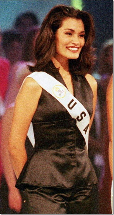Brook Mahealani Lee (USA) - Miss Universe 1997. Photo
