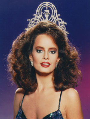 Cecilia Bolocco (Chile) - Miss Universe 1987. Photo
