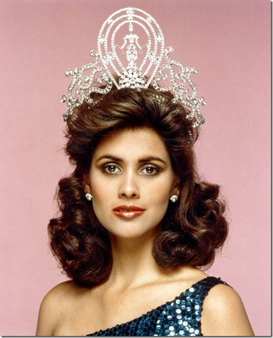 Deborah Carthy Deu (Puerto Rico) - Miss Universe 1985. Photo