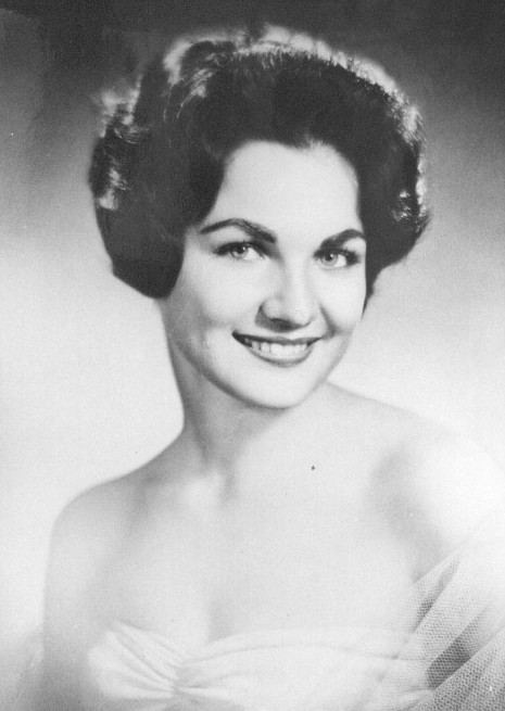 Linda Bement (USA) - Miss Universe 1960. Photo