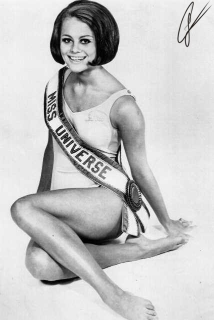 Margareta Arvidsson (Sweden) - Miss Universe 1966. Photo
