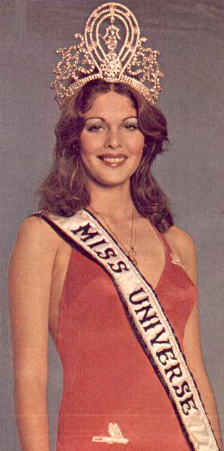 Rina Messinger (Israel) - Miss Universe 1976. Photo