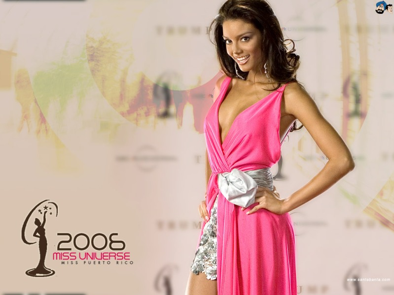 Zuleyka Rivera (Puerto Rico) - Miss Universe 2006. Photo
