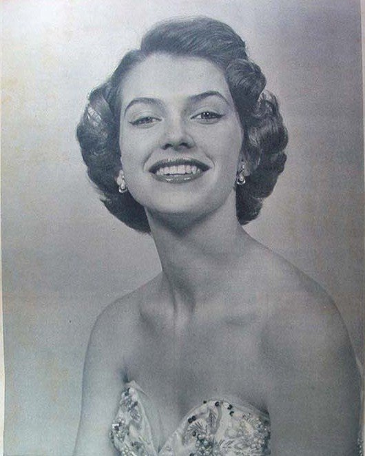 May-Louise Flodin (Sweden), Miss World 1952. Photo