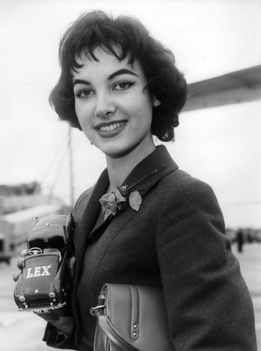 Petra Schürmann (Germany), Miss World 1956. Photo