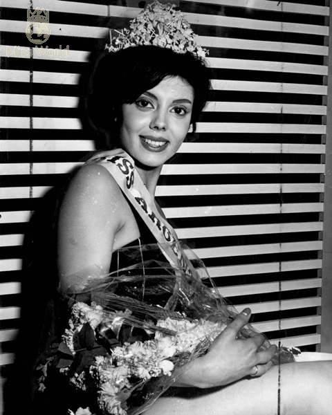 Norma Cappagli (Argentina), Miss World 1960. Photo