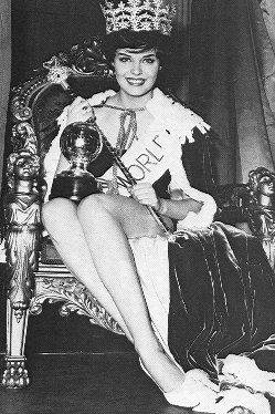 Rosemarie Frankland (United Kingdom), Miss World 1961. Photo