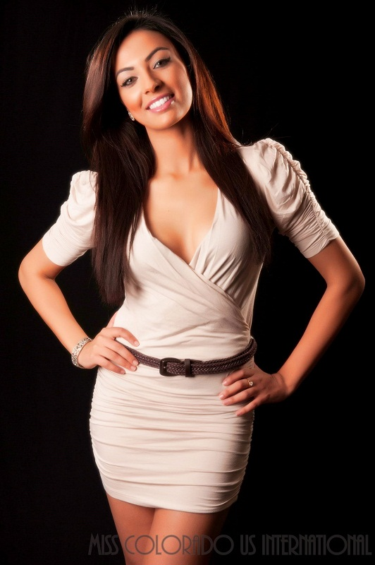 Iman Oubou Miss Colorado U.S international 2012 photo