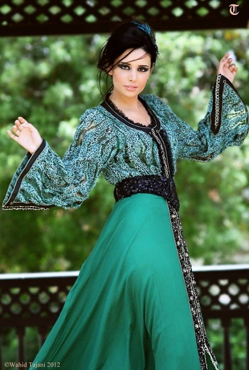 Loubna El Bekri pretty Moroccan model and actress photo