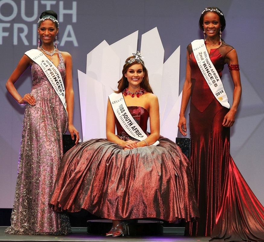 Miss South Africa 2014 winners