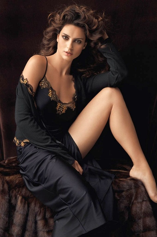 Catrinel Menghia (Marlon) gorgeous Romanian woman. photo