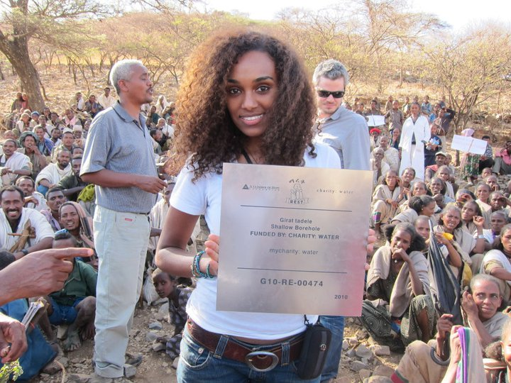 Gelila Bekele pretty Ethiopian woman photo
