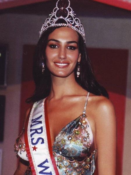 Красивая израильтянка Сима Бахар миссис мира 2005 победитель