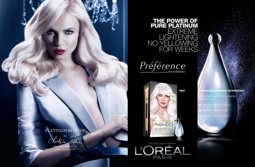 Natasha Poly for L'Oréal