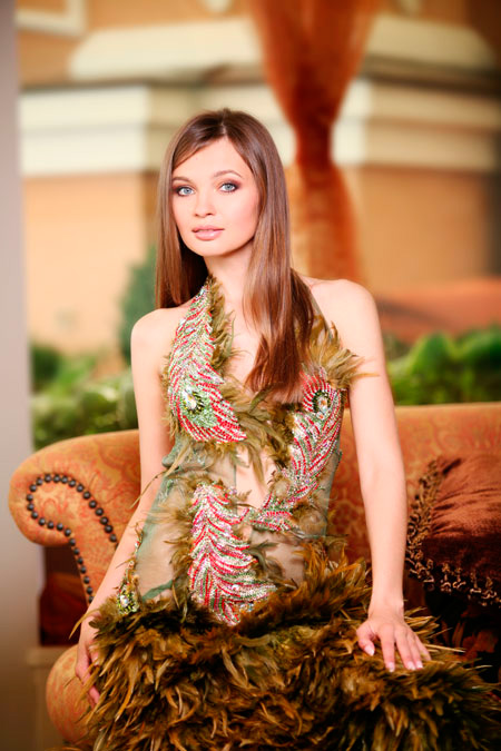 Anna Poslavska beautiful Ukrainian model photo