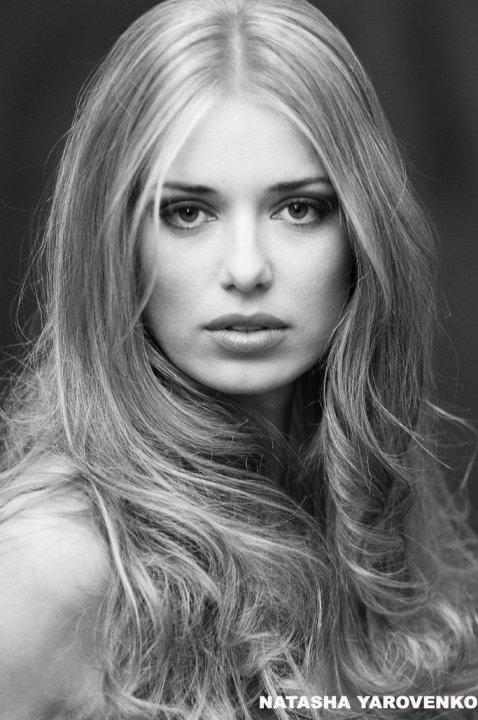 Наташа Яровенко красивая украинская актриса и модель изображения