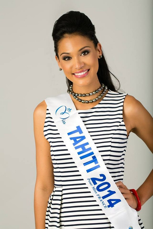 Hinarere Taputu Miss France 2015 1st Runner-up picture