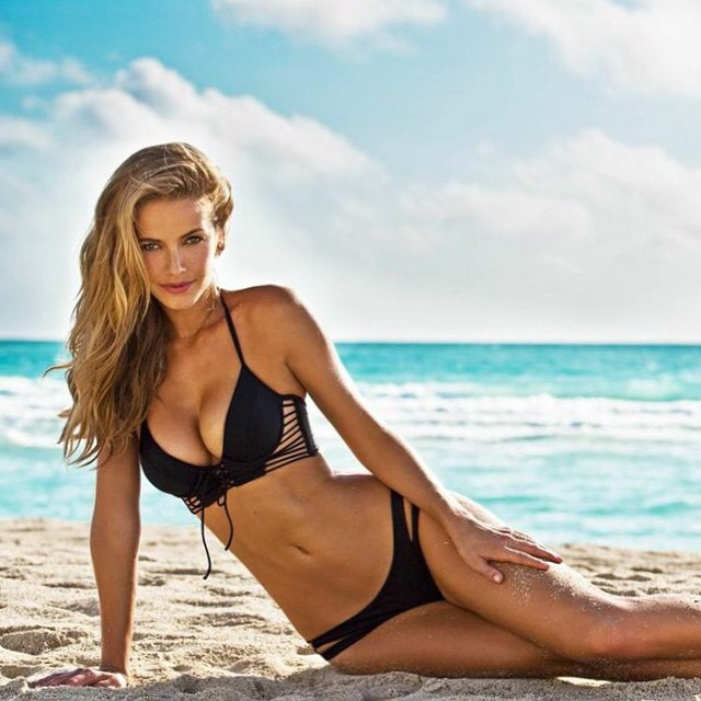 Olivia Jordan Miss USA 2015 in bikini