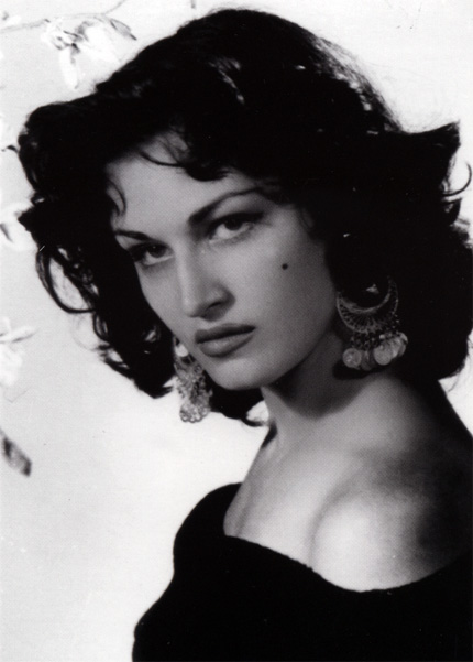 Dalida (Iolanda Christina Gigliotti) - Miss Egypt 1954. photo