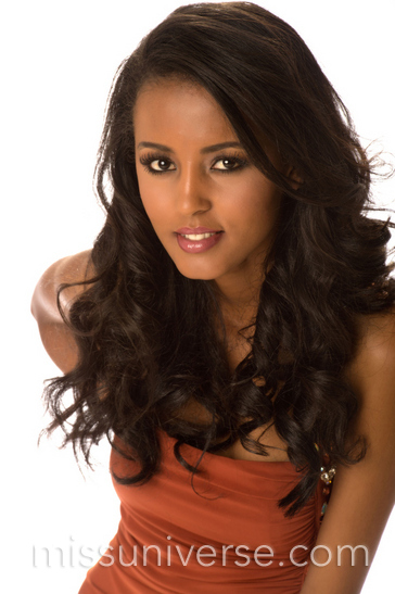 Helen Getachew - Miss Ethiopia Universe 2012. photo