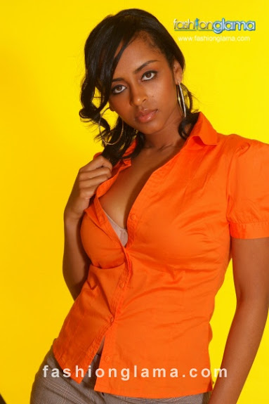 Beautiful Ethiopian Girl Eyaluta Seifu. photo