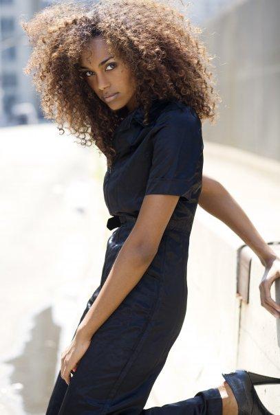 Most Beautiful Ethiopian Girl Gelila Bekele - model. photo