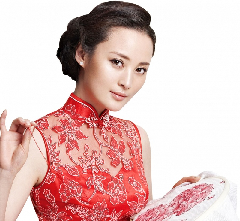 chinese actress Jiang Qinqin / 蔣勤勤 photo