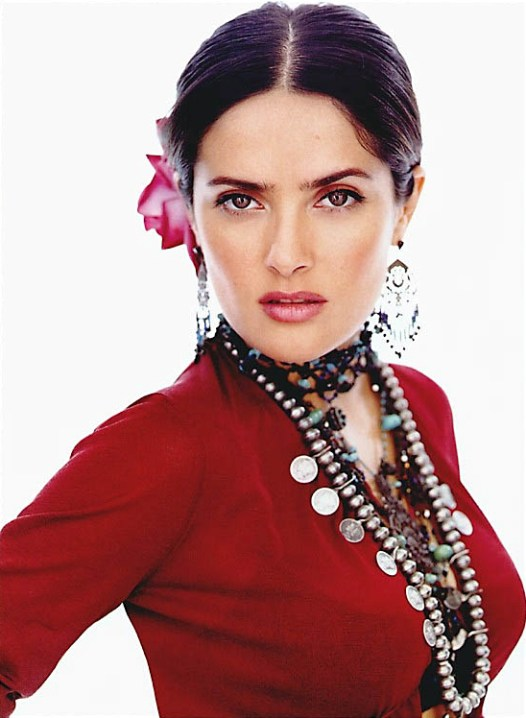 The Most Beautiful Latin Women: Salma Hayek. photo
