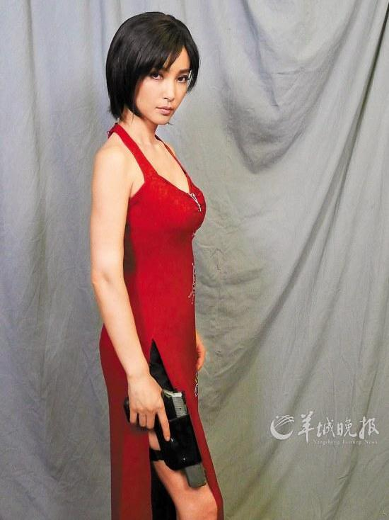 Li Bingbing as Ada Wong in Resident Evil: Retribution (2012)