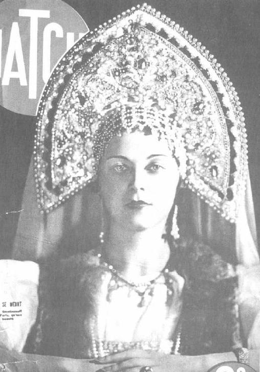 Ariadna Gedeonova Miss Russia 1936. photo