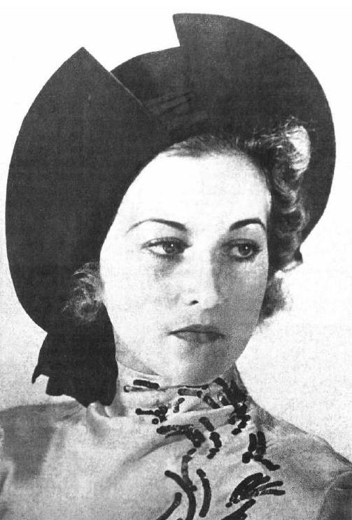 Evgenia Dashkevich Miss Russia 1938. photo