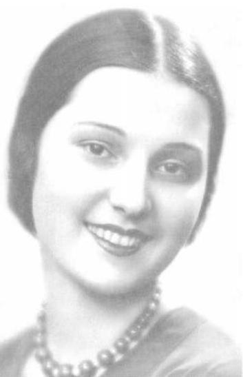 Tatiana Maslova, Miss Russia 1933, Miss Europe 1933. photo
