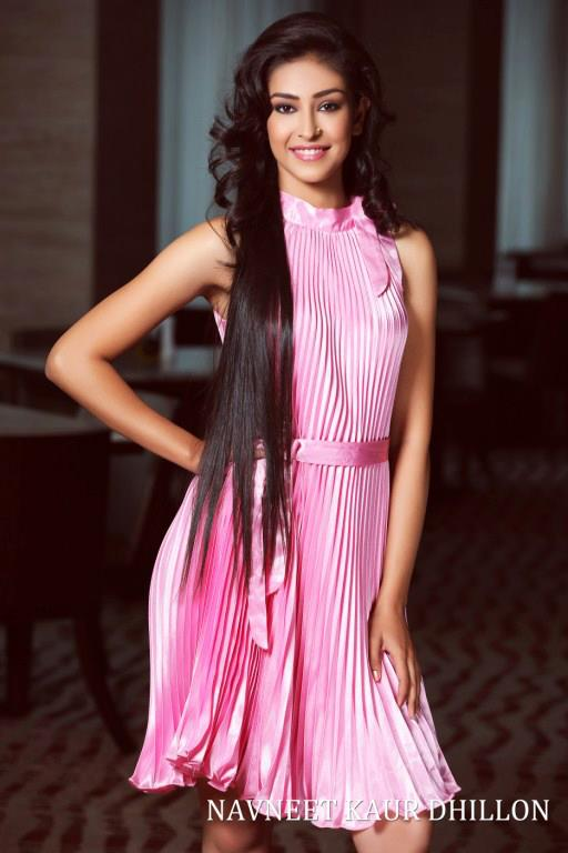 Navneet Kaur Dhillon, Femina Miss India World 2013 Winner. photo