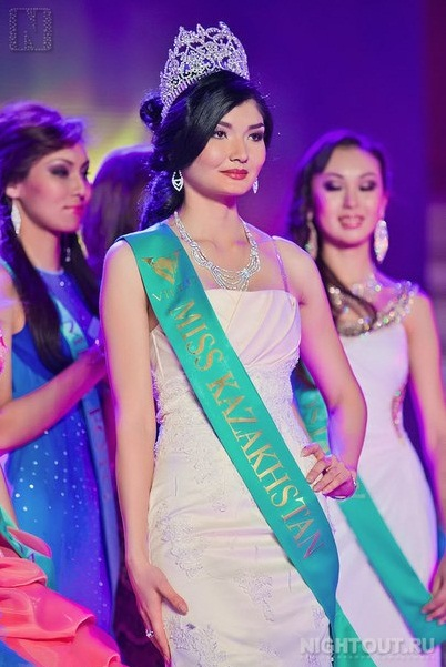 Zhazira Nurimbetova, Miss Kazakhstan 2012. photo