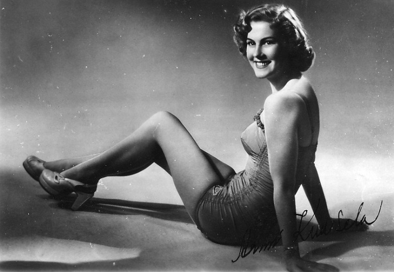 Armi Kuusela (Finland) Miss Universe 1952 photo
