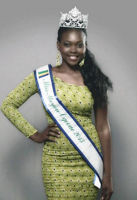 Brunilla Novela Ekoumbi Moussadingou Miss Gabon World 2013. photo