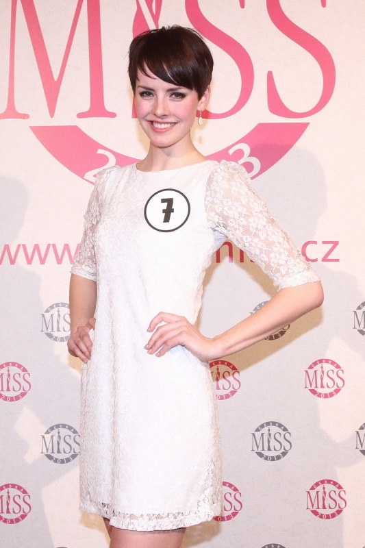 Gabriela Kratochvilová Miss Czech Republic Universe 2013 photo
