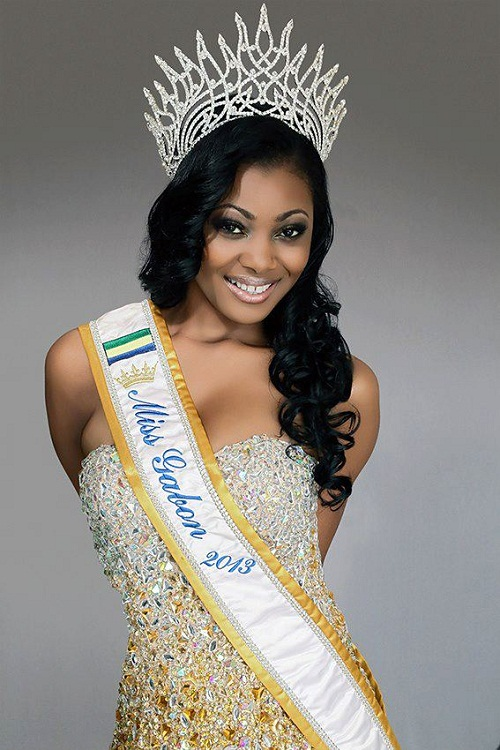 Mouchita. Photo courtesy of the official Facebook page of Miss Gabon