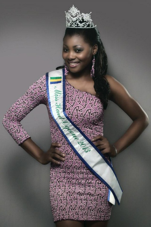Ruth Jennifer Ondo Mouchita The Most Beautiful Gabonese woman. picture