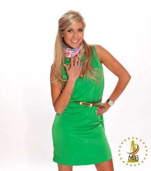 Noémie Happart Miss Belgium Universe 2013 photo