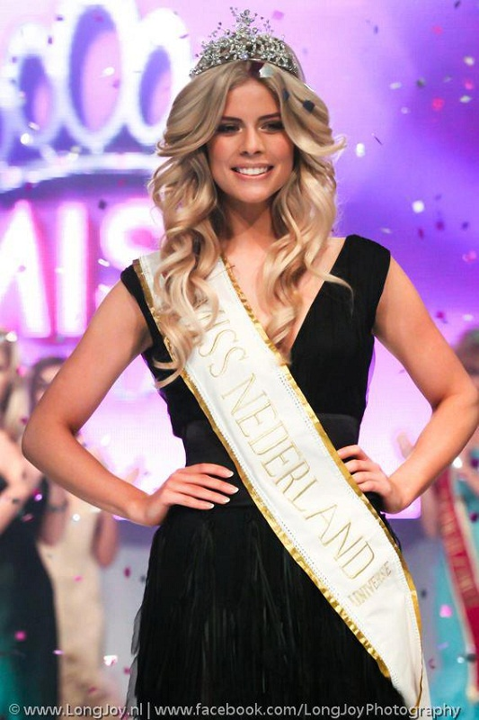 Stephanie Tency Miss Nederland 2013 photo